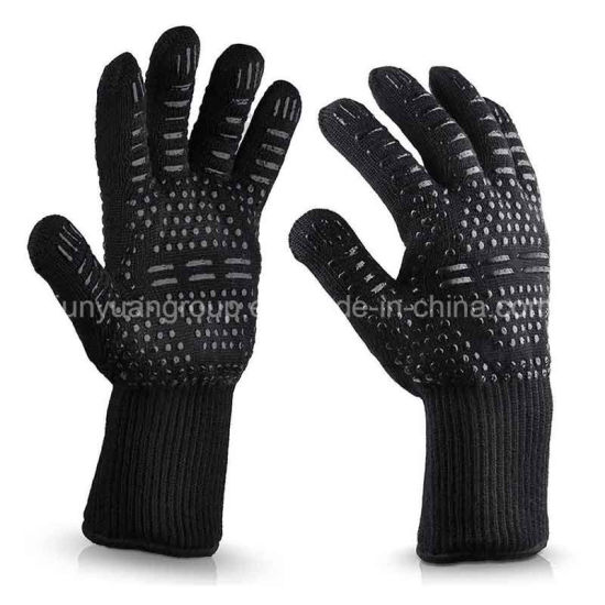 Grill BBQ Cooking Heat Resistant Oven Industrial 1472f Work Gloves