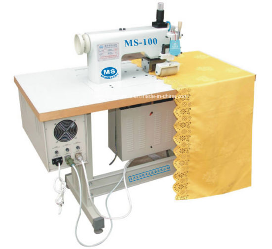 Ultrasonic Lace Sewing Machine for Cutting Ribbons