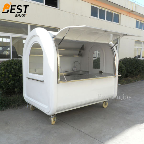 Bottom Price China New Mobile Fast Food Vending Mini Cart pictures & photos