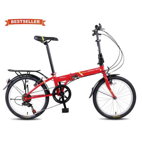 Hot Sale Cheap 20 Inch 7 Speed Aluminum Steel Frame Men Women Foldable Folding Bike Bicycle