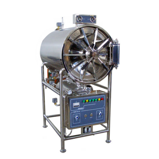 200L Horizontal Cylindrical Steam Sterilizer Hot Sale in China