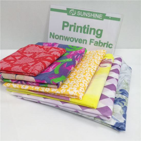 Mattress Nonwoven Fabric with Print