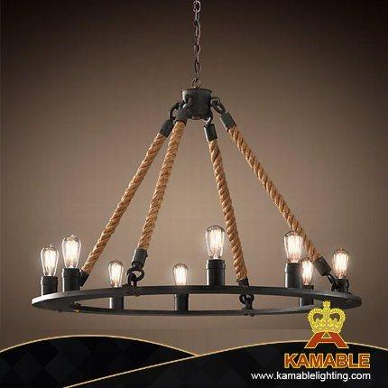 Retro Simplicity Dining Room Chandelier Pendant Light (GD1048B-8)
