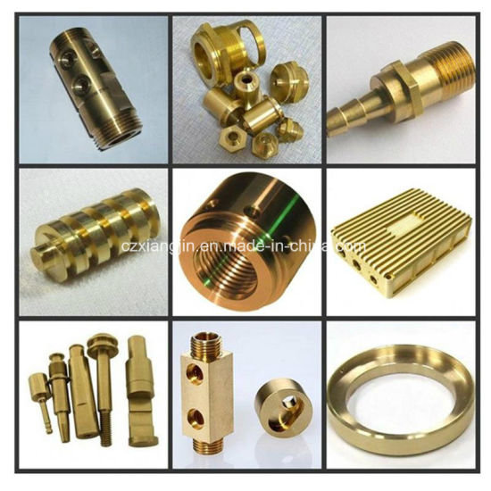 Custom CNC Machined Brass Part (XJ-BP101)