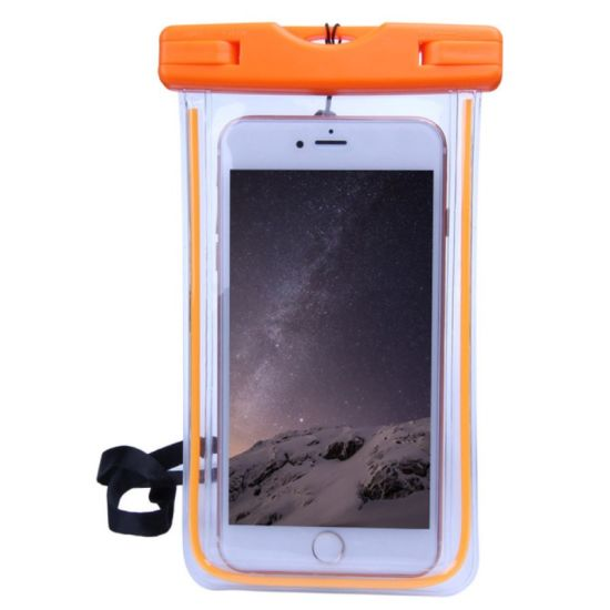 Mobile Phone Waterproof Case Wading Sports Seaside Swimming Touchscreen Waterproof Bag