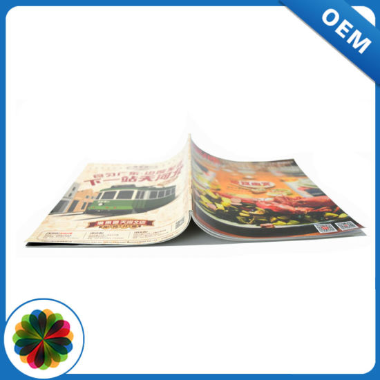 Wholesale 8.5*11inch Glossy Coated Paper Magazine Printing pictures & photos