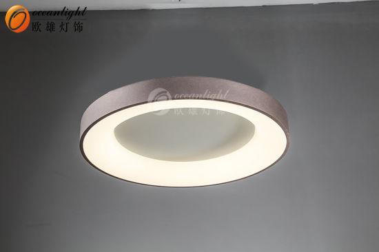 2020 New Design White Coffee LED Round Ceiling Chandelier Light Omx8180045