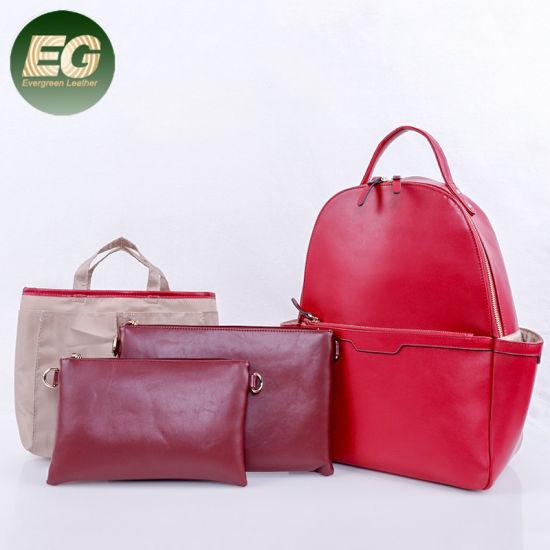 Fashion 4PCS 1 Set Backpack Set Mommy Baby Diaper Bag Shoulder Backpack