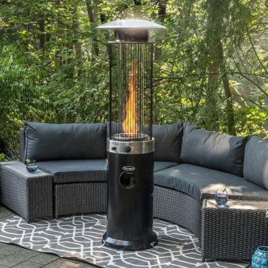Flame Propane Standing Patio Heater
