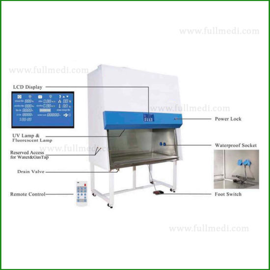 China Digital Class Ii A2 Biological Biosafety Cabinet With