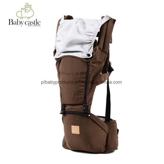 Wholesale Cheapter Price Polyester Dilated Brown Kids Ergonomic Baby Carrier with Ce pictures & photos
