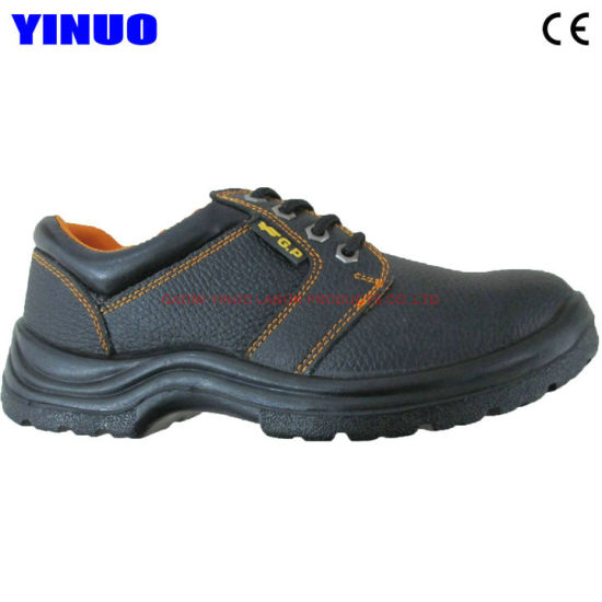 Genuine Leather Upper Steel Toe ESD Safety Work Shoes