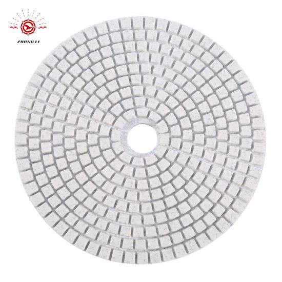 4′′/100mm Flexible Diamond Wet Polishing Pad for Granite/Marble pictures & photos
