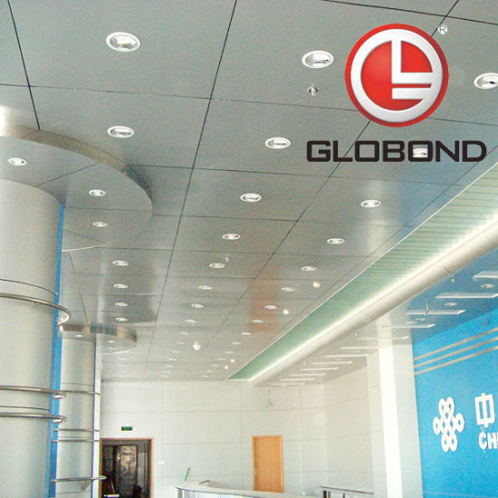 GLOBOND Polyester Aluminium Composite Panel (PE-321 Silver Project) pictures & photos
