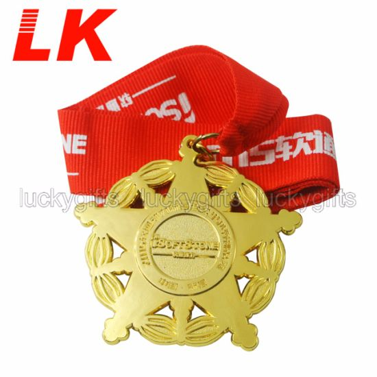 Manufacturer Direct Sale Gold Plating Custom Award Gift Military Honor Medal