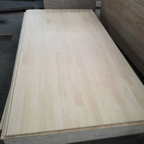 Radiata Pine Finger Joint Solid Wood Edge Glued Board Fj Board