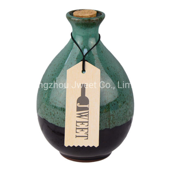 Wholesale 750ml Ceramic Liquor Storage Bottle