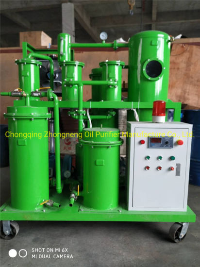 High Vacuum Stage Gear Oil Purification Machine