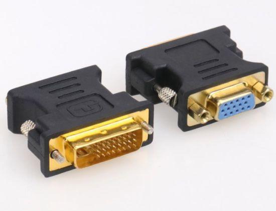 DVI (24+5) Male to VGA Female Adaptor / Connector