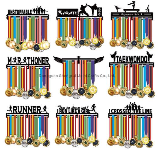 Customized Medal Hanger Sport Medal Display Rack Metal Medal Holder