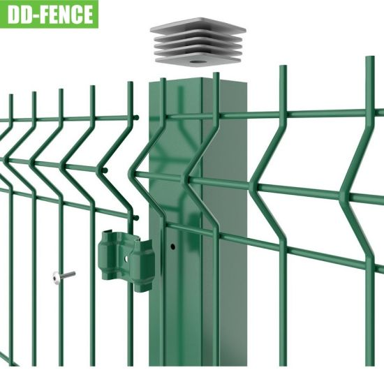 Hot Sale Galvanized 2.0m High Welded Wire Mesh Fence for Park, Garden, Industrial Boundary
