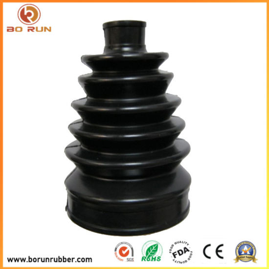 Aging Resistant Neoprene High Intensity Dust Cover Silicone Rubber Bellow