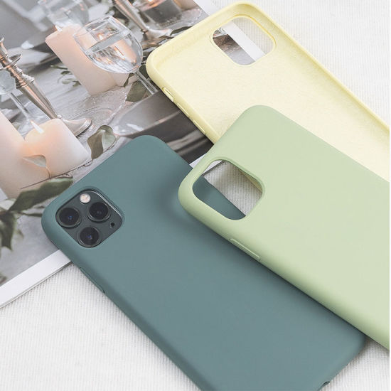 Hot Selling High Quality Food Grade Liquid Silicone Mobile Phone Case for iPhone 11