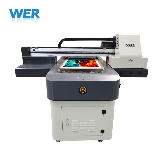 Wer 6090 DTG Cloth Inkjet Printing Machine Direct to T-Shirt Printer