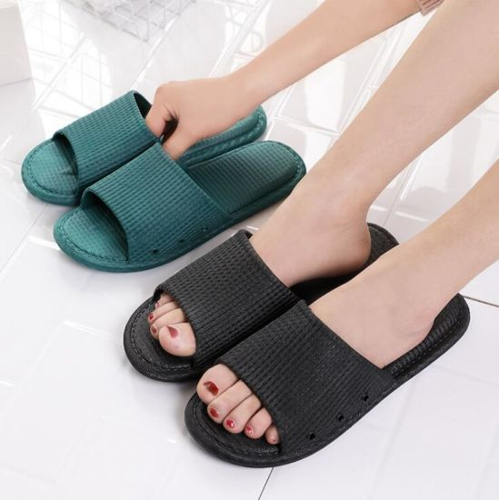 Hot Sale Indoor Non Slip Couple Sandals pictures & photos