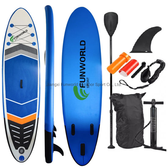 Customized Logo OEM/ODM Sup Inflatable Surf Surfboard Stand up Paddle Board with Good Quality