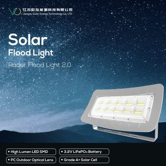 Indoor or Outdoor Solar Lighting with 3.2V LiFePO4 Battery