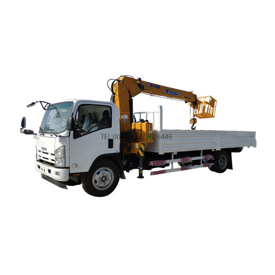 Japan Isuzu 700p Truck Mounted Boom Arm Crane Truck 5tons 4tons