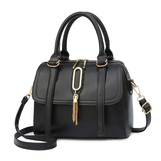 Quality Custom Logo Women Handbag Full Grain Leather Cowhide Lady Handbag Cow Leather Hand Bags Handbag Brand
