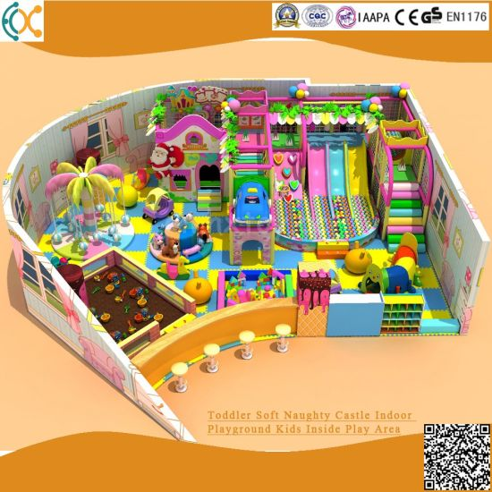 Toddler Soft Naughty Castle Indoor Playground Kids Inside Play Area