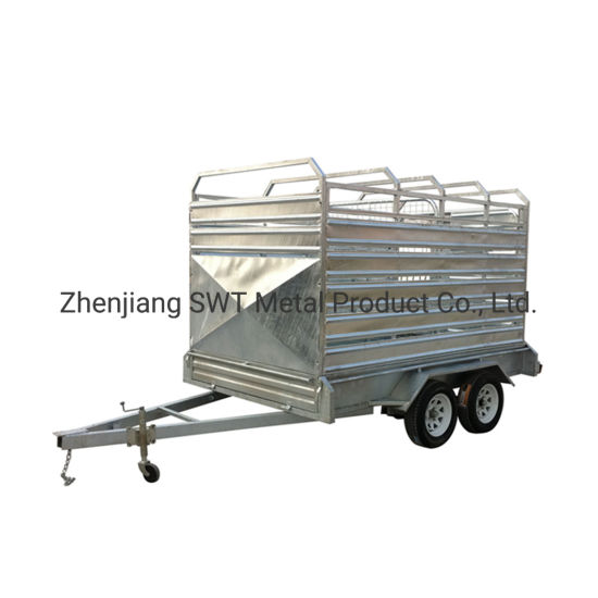 Direct Wholesale Price Metal Livestock Farm Fence Panel with Tipped