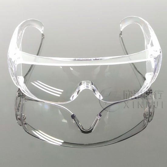 Safety Goggles Transparent Spectacle Anti-Fog Protective Glasses