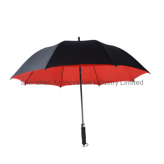 High Quality Umbrella Windproof Double Layer Golf Umbrella Custom Logo Print Wind Proof UV Umbrella pictures & photos