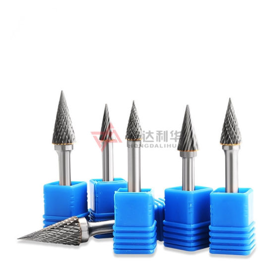 Wear Resistance Tungsten Carbide Rotary Burrs with HRC70 -80 From Carbide Manufacturer