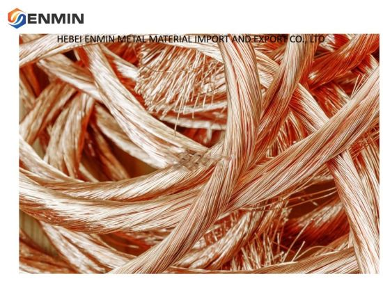 Hot Sell Copper Wire Scrap 99.99%/Millberry Copper Scrap From China Factory