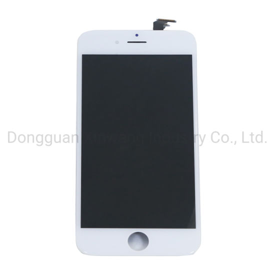 Wholesale High Quality Cell Phone LCD Touch Screen for iPhone 6, Black White Lcds Display Replacements for Apple 6
