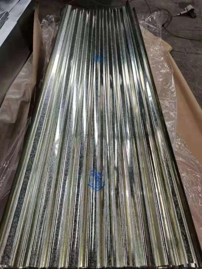 Steel Material Zinc Coated Corrugated Galvanized Steel Roofing Sheet
