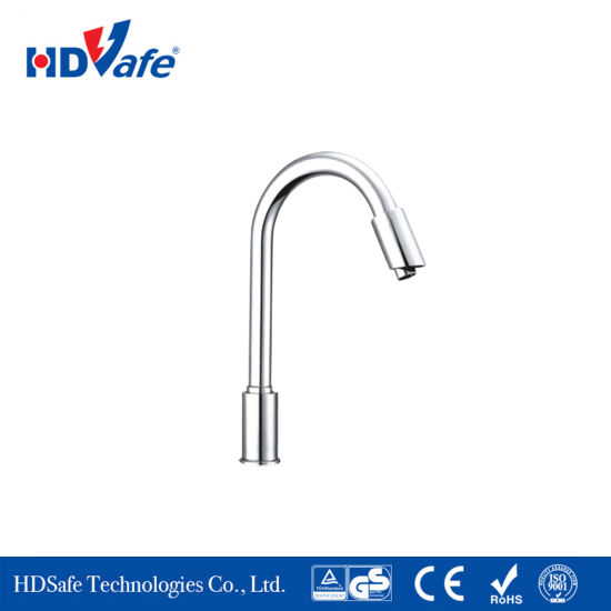 Beau Ce RoHS Stable Long Neck Swivel Sensor Water Tap Automatic Kitchen Faucet  For Bathroom