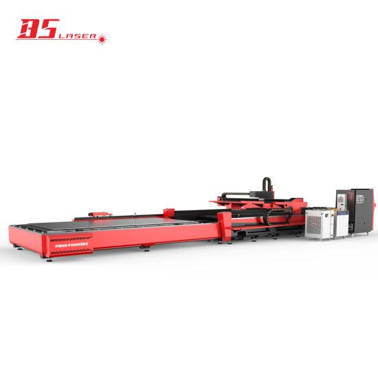 Superior Service Sheet Metal Pipe Plate Fiber Laser Cutting Machine with 4000*2000mm Dual Platforms