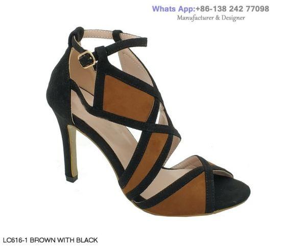 ec958e9d84 Women′s High Heeled Sandals Stiletto Lady Party Dance Dress Shoes. Get  Latest Price