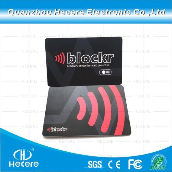 4dc40a150ad1 RFID Shield RFID Blocking Aluminum Foil Wallet ID Credit Card Holder Anti  RFID Scanning