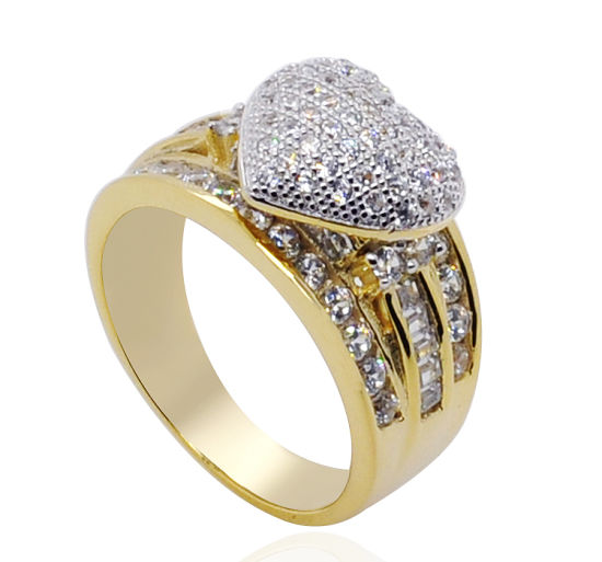 China New Design Fashion Women Rings 925 Silver With 14k 18k Gold Plated Cz Lady Ring China Fashion Rings And Ring Design Price