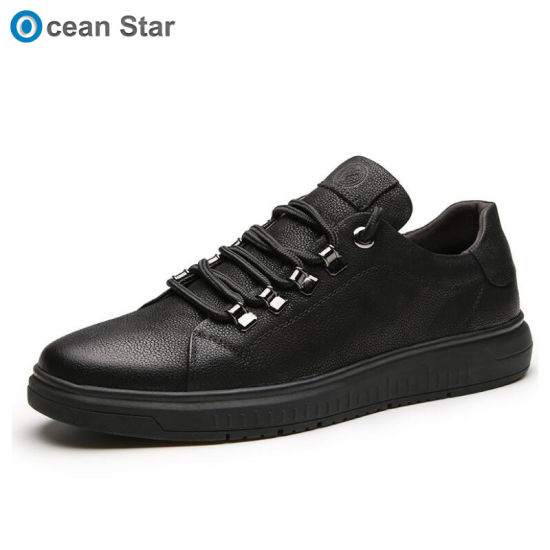 bb1910a7ab08 2019 Fashion Men Casual Shoes Fashion Leather Shoes for Men Summer Mens Flat  Shoes