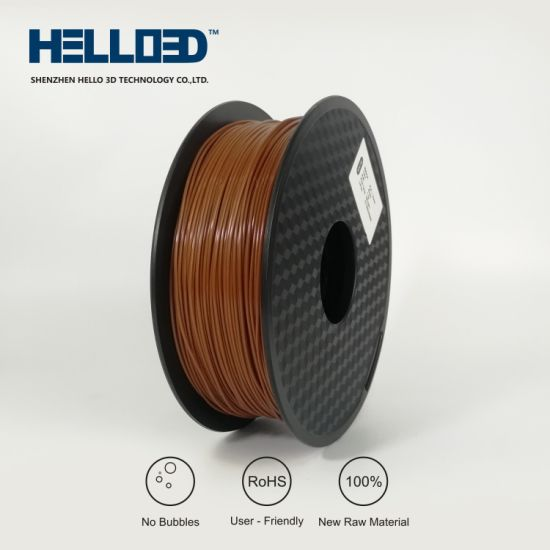 Brown Color 3D Printing Materials 1.75mm ABS 3D Printer Filaments pictures & photos