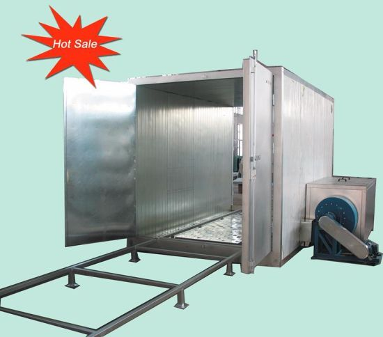 Hongyuan Gas Powder Coating Curing Oven with Gas Burner for Powder Coating Curing