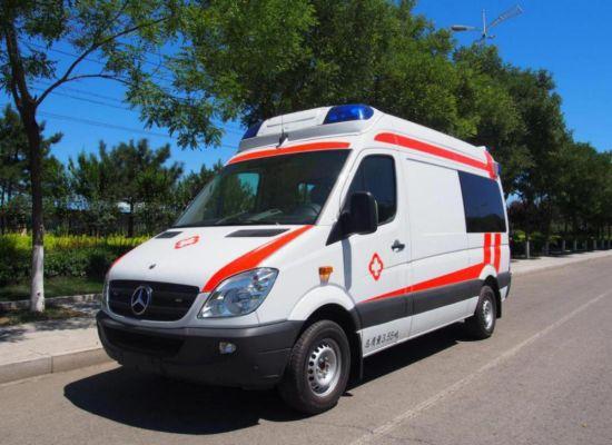 China Mercedes Benz! ! ! Transit Emergency ICU Ambulance Car